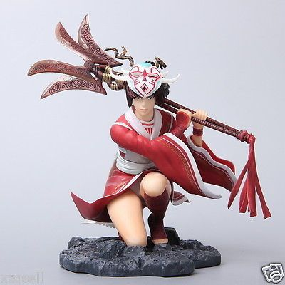 LOL LEAGUE OF LEGENDS GAME FIST OF SHADOW AKALI ASSASSIN FIGURE STATUE 3D MODEL