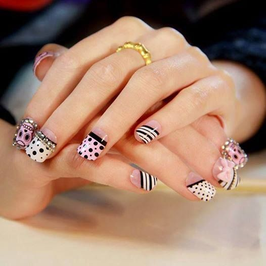 374 best nail art images on pinterest nail art nail arts and clip on nails prinsesfo Gallery
