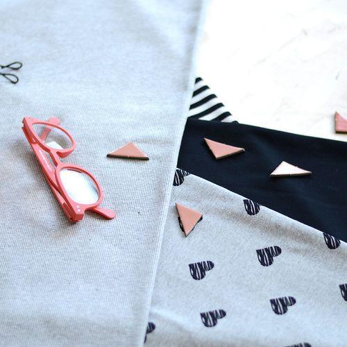 2x1 Rib, Light Melange Gray | NOSH Autumn & Winter 2016 Fabric Collection is now available at en.nosh.fi | NOSH syksyn 2016 uutuuskankaat saatavilla verkosta nosh.fi