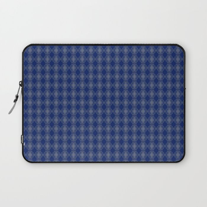 Protect your laptop with a unique Society6 Laptop Sleeve. Our form fitting, lightweight sleeves are created with high quality polyester - optimal for vibrant color absorption. The design is printed on both sides to fully showcase the artwork while keeping your gear protected. Pulling back the YKK zipper, you'll find the interior is fully lined with super soft, scratch resistant micro-fiber.blue, white, abstract, grid, pattern, design, computer generated, digital, society6, gifts, shopping…
