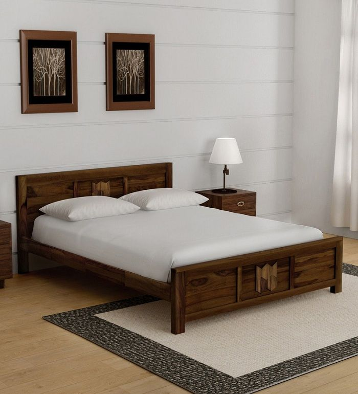10 Latest Best Wooden Bed Designs With Pictures Wooden Bed Design Bed Design Bed Design Modern