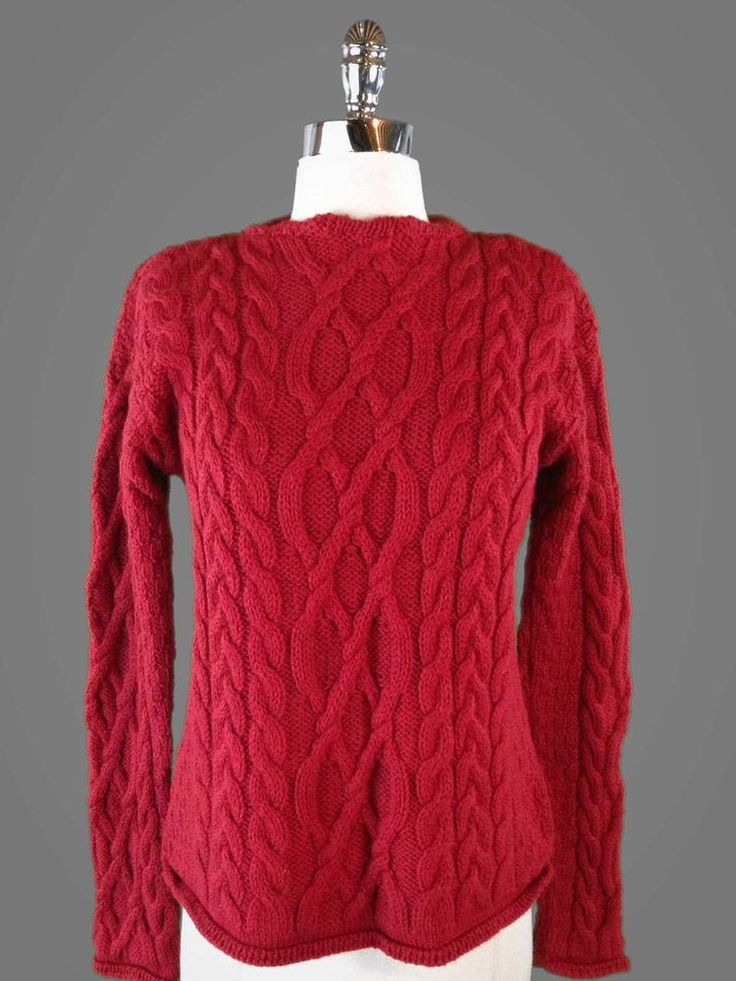 Best 273 fisherman sweaters images on pinterest women 39 s for Aran crafts fisherman sweater