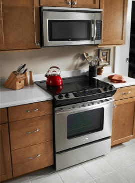 A slide-in range that stands out | Appliances and Kitchen Gadgets - CNET Blogs