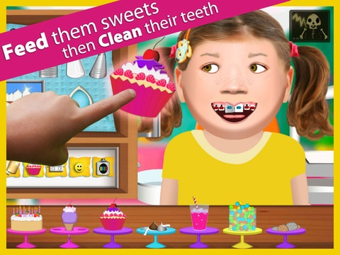 Workday Dentist ($1.99) Our latest series allows you to live the life of a dentist. Clean the patient's teeth, drill cavities, and put on braces. Even spray paint the patient's teeth! Feed the patient's junk food to add cavities and gunk!  Workday Dentist includes several great tools for treating your patients.