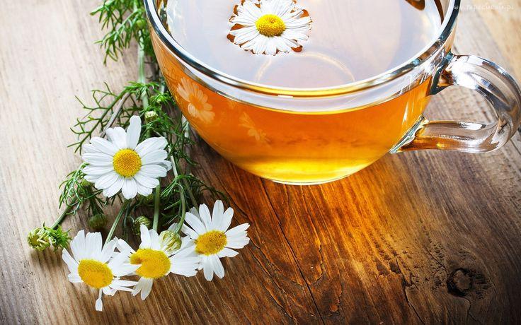 Herbata, Filiżanka, Rumianek