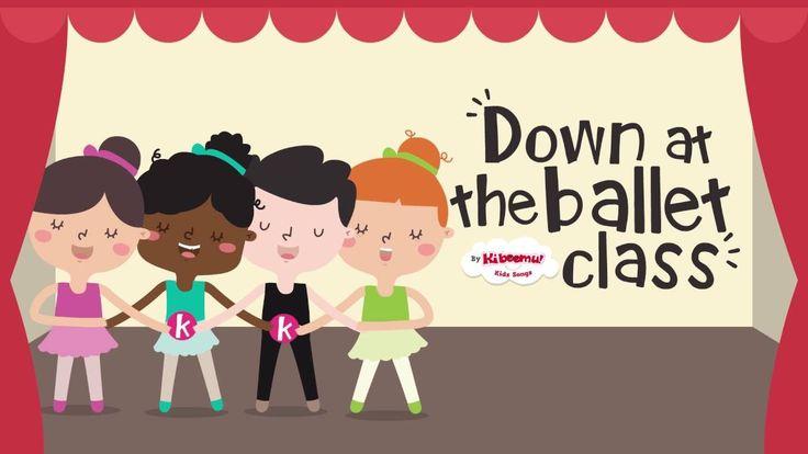 Ballet Class song for kids!  #kidsmusic #toddlers #prek