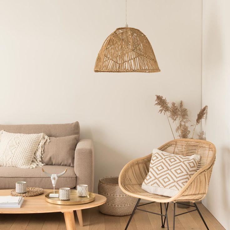 Wohnzimmer Einrichtungsvorschläge: Woven Cord Pendant