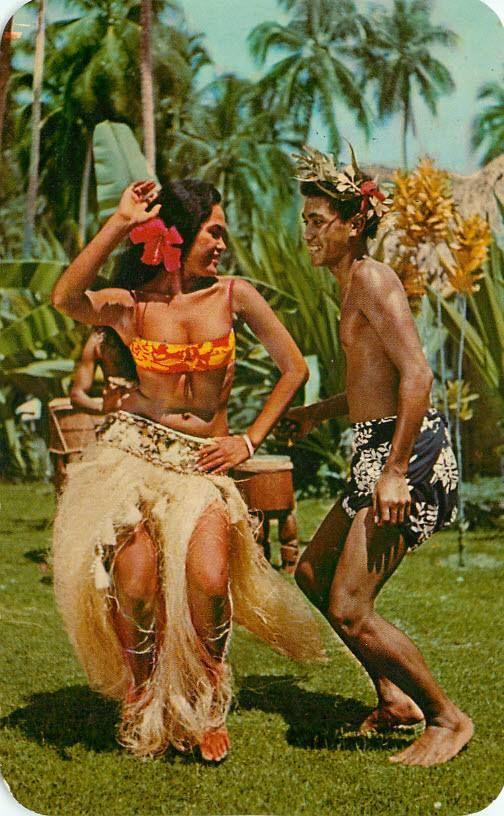 Vintage Tamare - Heiva in Tahiti ~ pinned via Oh Linda
