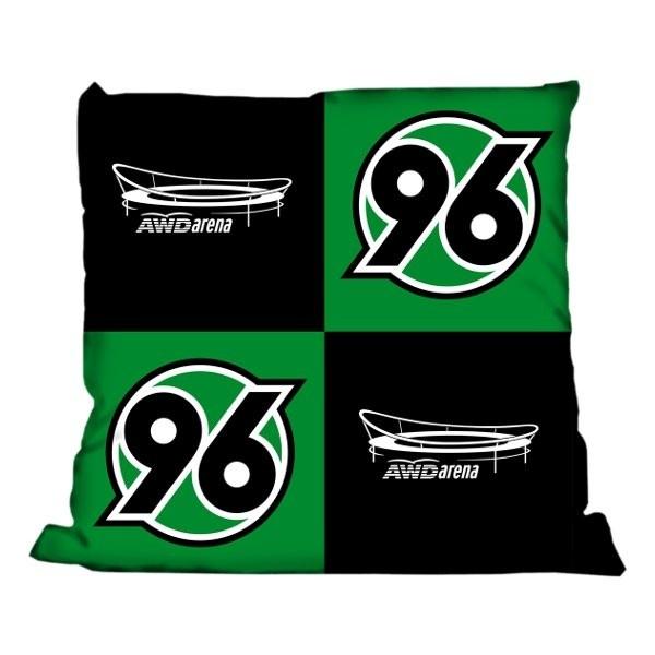 Kissen AWD Arena Hannover 96 - Bundesliga, Schlafzimmer, Bettwäsche, Decken & Kissen, Fanartikel, Fußball, Soccer