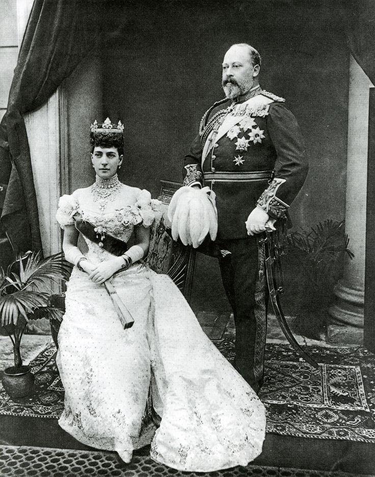 Edward VII (1841-1910) and Alexandra of England (1844-1925) after Gunn & Stuart