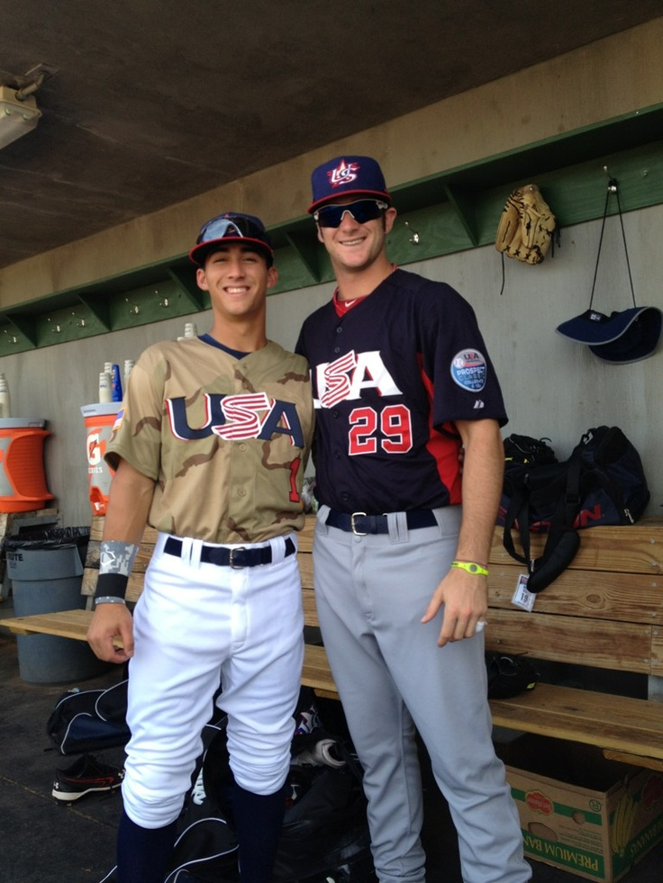 To think, playing against each other in the SEC, they didn't know each other and were rivals. Meeting Bobby Wahl on Team USA and became good friends!