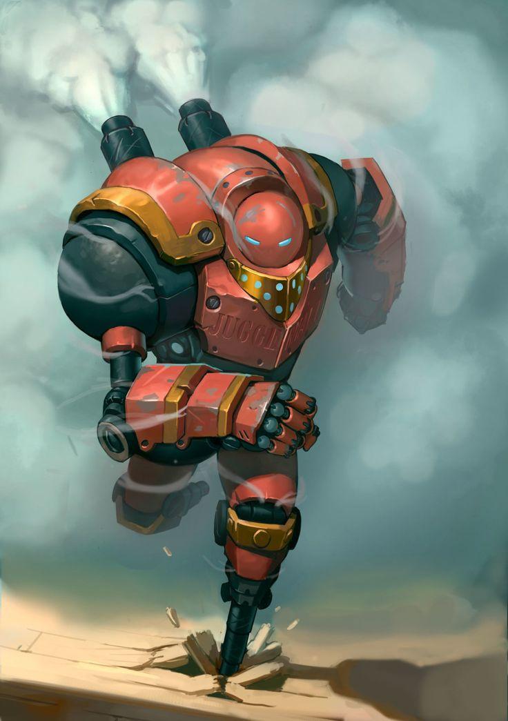 Juggernaut, Morten Skalvik on ArtStation at https://www.artstation.com/artwork/juggernaut-acc233a1-97f8-444d-933e-7817e570c8a7