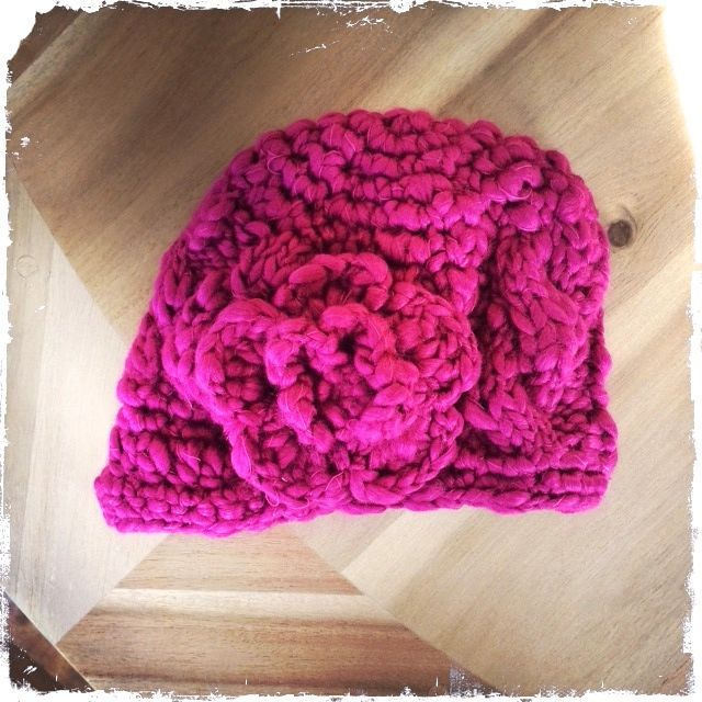 Perfect for your Baby Valentine!  Haute and Toasty baby brim hat.  www.hautetots.ca