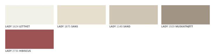 Letthet, Sans, Sand, Muskatnøtt og Hibiscus Jotun Lady