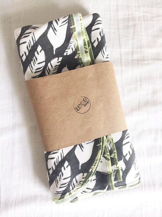 organic baby blanket unisex swaddle blanket by weevintagebaby