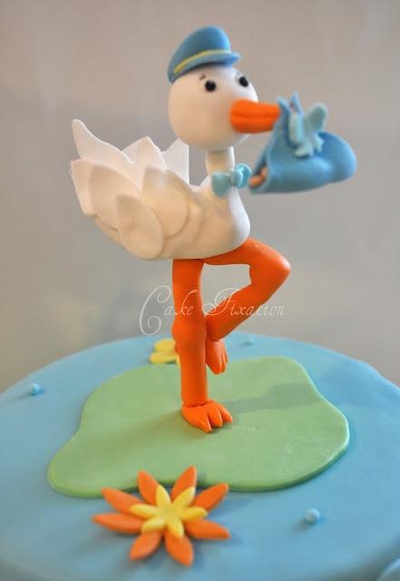 Stork Cake Topper Don T Know Gender
