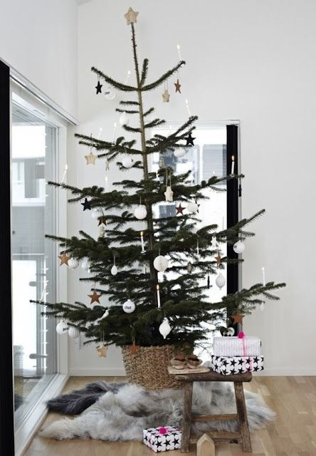 Casinha colorida: Home Tour: típico Natal dinamarquês