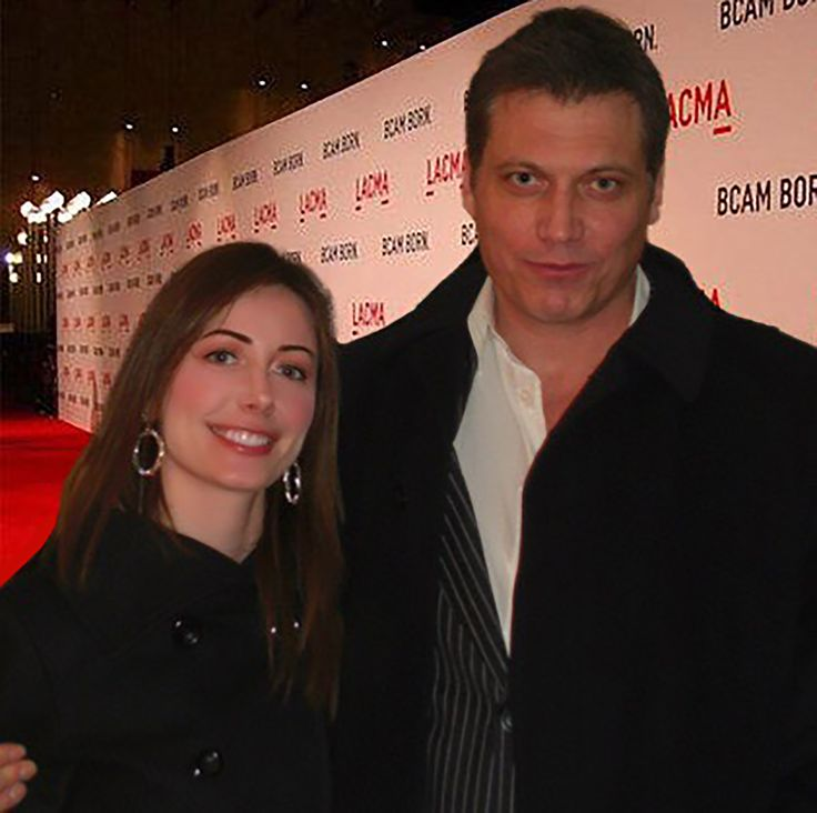 Actor Holt McCallany and his girlfriend  Artist Nicole Wilson