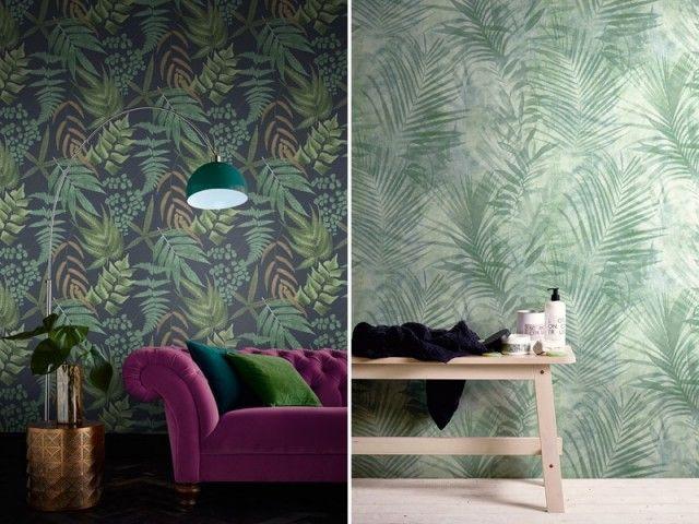 Tendances Papier Peint 2020 Quoi De Neuf Pour Sublimer Nos Murs En 2020 Papier Peint Deco Chambre Deco