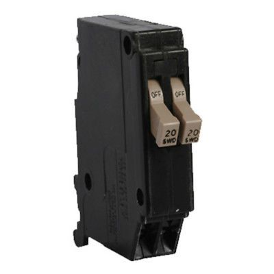 circuit breakers and fuse boxes 20596: cutler hammer cht2020 type ch-twin  single pole replacement circuit breaker, 20a -> buy it now only: $32 99 on  #ebay