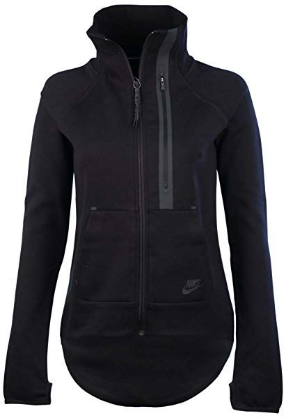 Nike Women s Tech Fleece Moto Cape Jacket f4b00d07b5