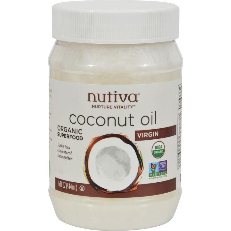Nutiva Extra Virgin Coconut Oil Organic - 15 Fl Oz