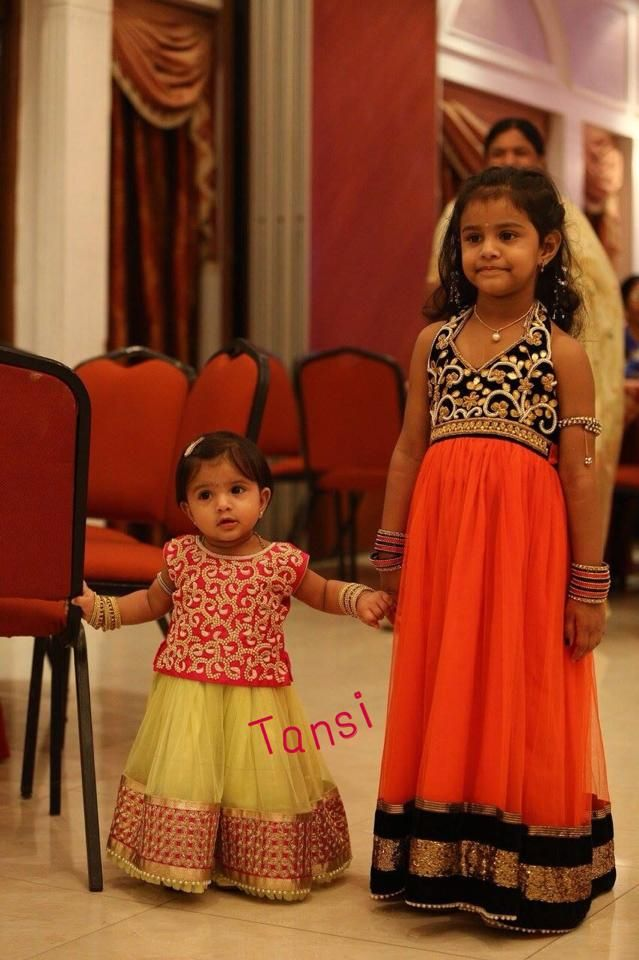 Lehangas and frocks by Tansi!