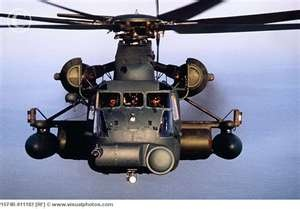 Air Force CH-53E Super Stallion Helicopter