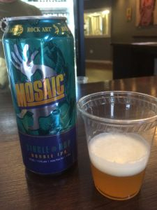 Rock Art Brewery Mosaic Single Hop Double IPA