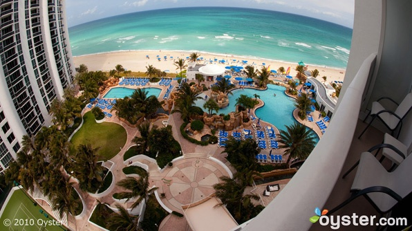 The Trump International Beach Resort in Miami, a great family spring break hotel
