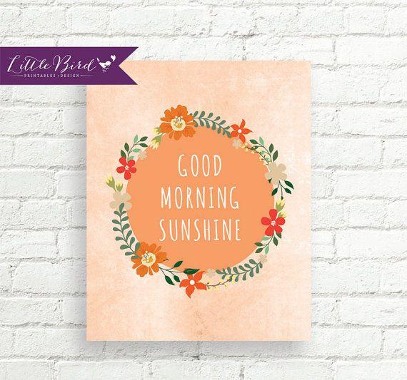 Good Morning Sunshine Wine : Best images about little bird printables design on