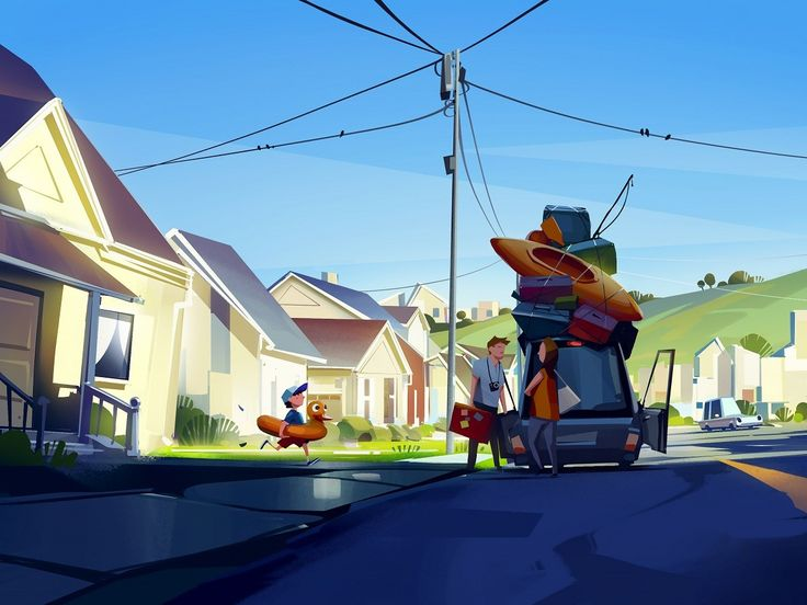 ArtStation - vacation, Michal Sawtyruk