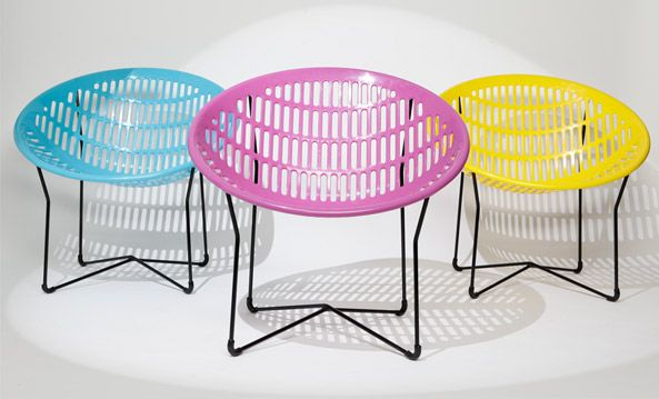 The totally awesome Solair chair! These used to be EVERYWHERE, and now they're experiencing a revival. They're a Montreal design icon.