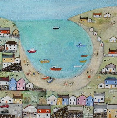 Louise RAWLINGS - Harbour View | Red Rag Gallery