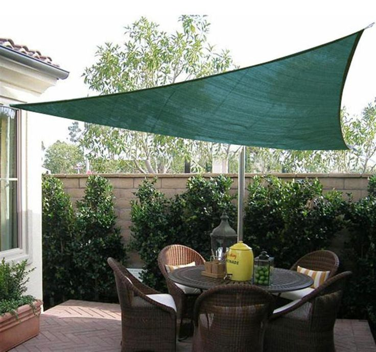 17 best ideas about triangle sun shade on pinterest sail shade sun shade and outdoor shade. Black Bedroom Furniture Sets. Home Design Ideas