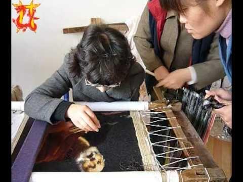 Китайское искусство вышивки шелком Chinese art. Silk embroidery