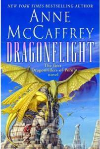 Anne McCaffrey's Dragonriders of Pern series.  ALL OF THEM.