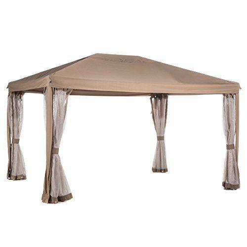 Abba-Patio-10x12-Feet-Fully-Enclosed-Garden-Gazebo-Patio-Canopy-with-Mosquito