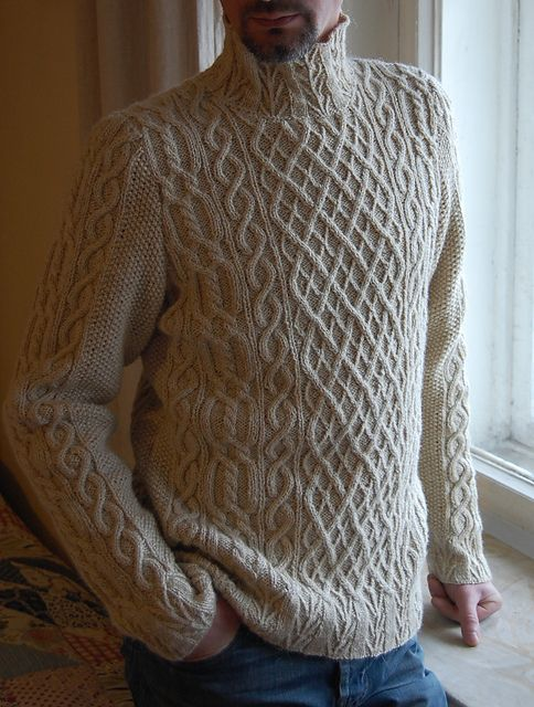 Another amazing Martin Storey design - Ravelry: hrivelote's Lin d'hiver