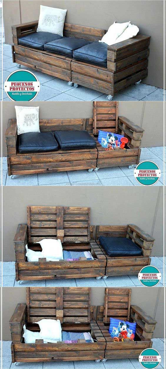 20 Insanely Cool DIY Yard and Patio Furniture – Debbie Ieni