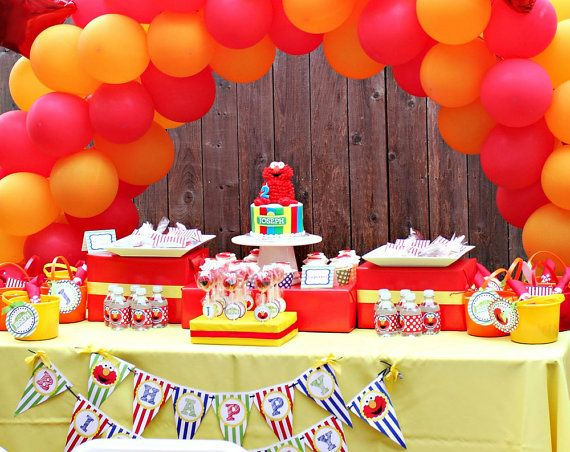 48 best Babys Birthday Ideas images on Pinterest Elmo birthday