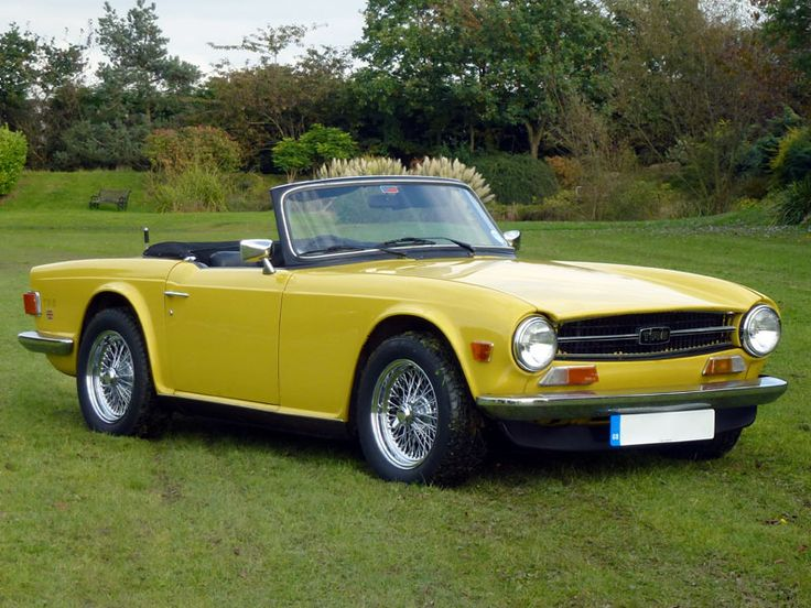 yellow 1973 tr6 triumph for sale | 1973 triumph tr6 | a bedroom to
