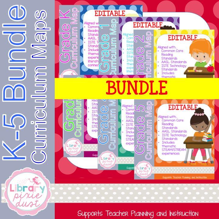 https://www.teacherspayteachers.com/Product/Grade-K-5-Curriculum-Map-BUNDLE-3361193