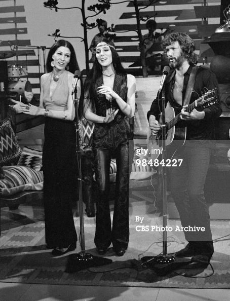 Rita Coolidge Cher and Kris Kristofferson