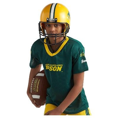 Franklin Sports Team Licensed North Dakota State Bison Deluxe Football Uniform Set, Kids Unisex, Size: Small