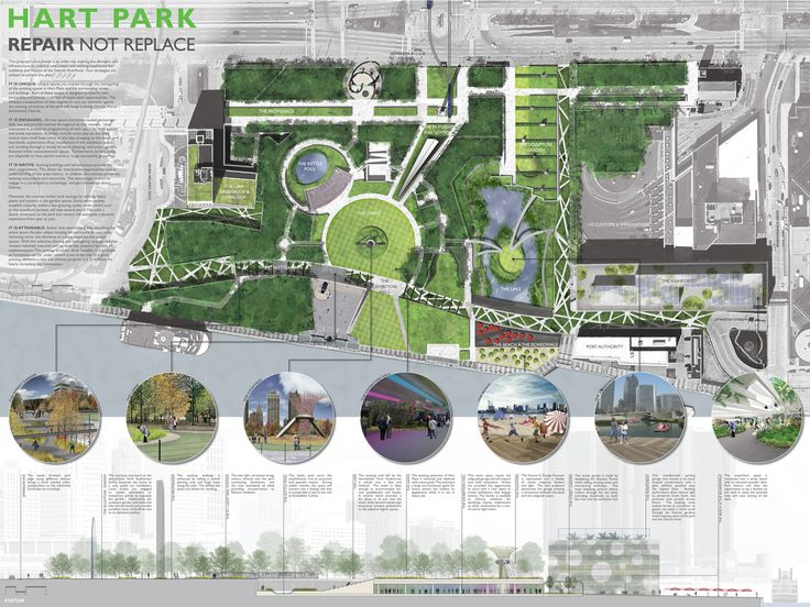 AIA Detroit by Design Competition: Hart Park