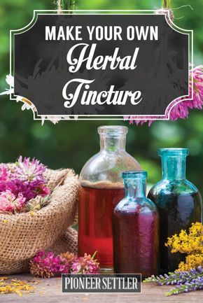 Learn how to make herbal tincture