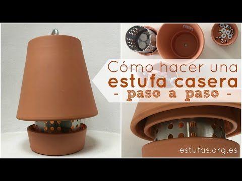 Calefacion Con Macetas Muy Barata Y Efectiva Youtube Estufa Banco De Bricolaje Calentador De Vela