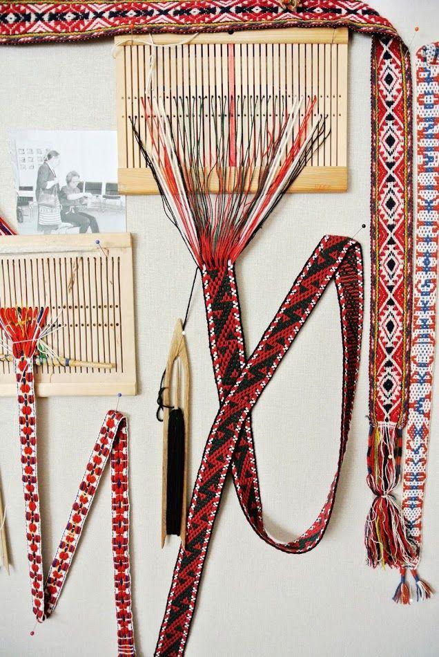 Inkle weaving via Little Helsinki