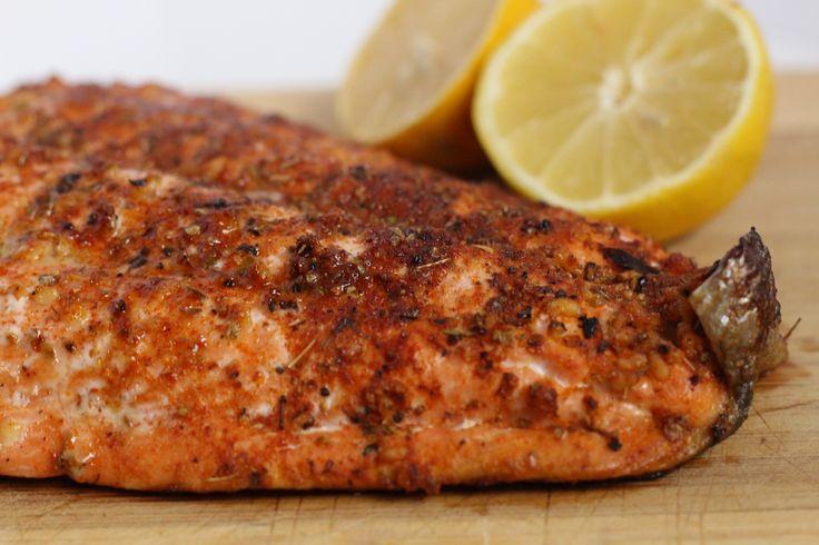 Cajun Baked Salmon | My Engineered Nutrition